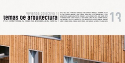 ARQCHITECTURE TOPICS 13 COLLECTIVE HOUSING I